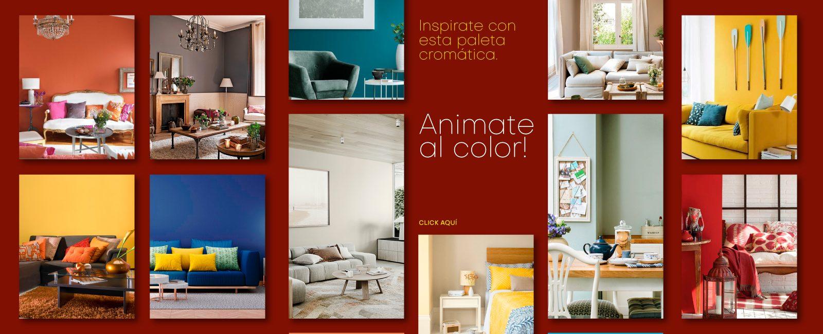 Te presentamos esta atractiva paleta cromática para que te inspires